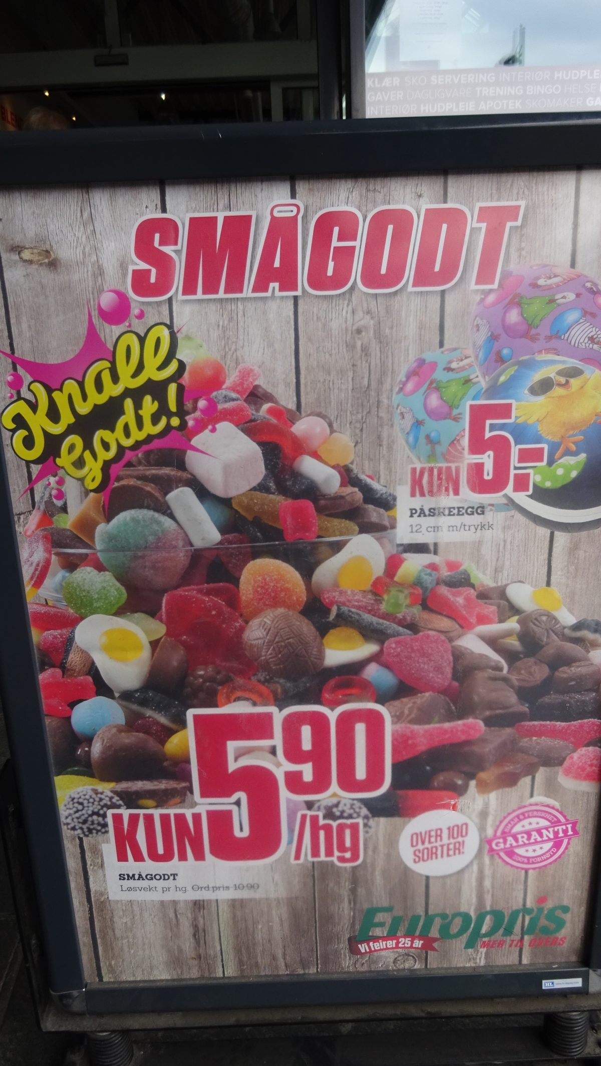 Litt sukker kan vel ikke være så farlig